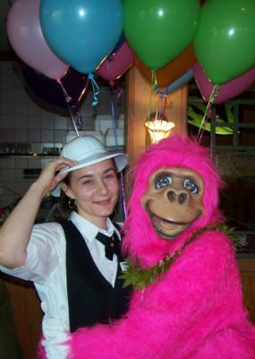 Gorilla, Chicago ,Entertainment, ,Disc jockey, Singing Telegrams, Elvis, Chicago