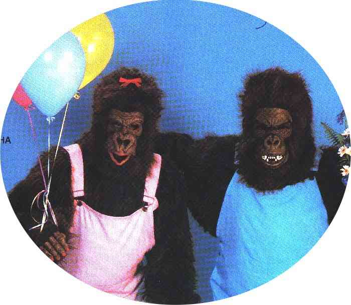 gorrilla singing telegrams,balloons,balloon, delivery,  entertainment,clown,belly,hula dancer, entertainment singing telegrams, chicago party supply,  elvis impersonator party supplies